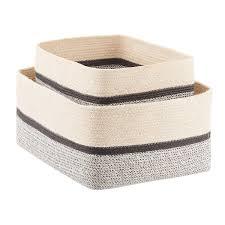 decorative storage boxes fabric baskets u0026 closet clothes boxes