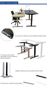 Electric Height Adjustable Desk by Best Design Simple Design Uplift Height Adjustable Standing Desk