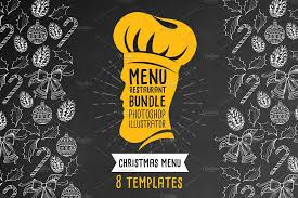 customizable menu templates 30 food drink menu templates design shack