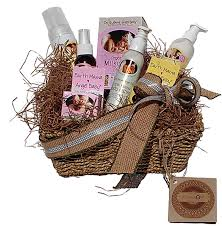 Gift Baskets With Free Shipping Organic All Natural Mom And Baby Gift Basket Free Shipping Over
