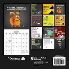 design wall calendar 2015 oatmeal 2015 wall calendar thinkgeek