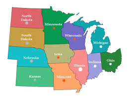 United States Quiz Map by Midwest State Quiz Playbuzz