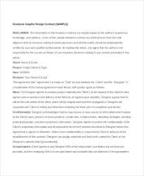 Freelance Artists For Hire 7 Sample Freelance Contract Templates Free Sample Example
