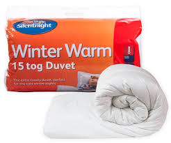 3 Tog Duvets Silentnight Winter Warm 15 Tog Duvet Double Amazon Co Uk