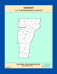 Map Vermont Maps Vermont Congressional Districts