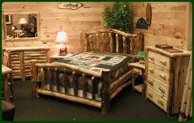 Pictures Of Log Beds by Fine Design Log Bedroom Furniture Cedar Bed Kits