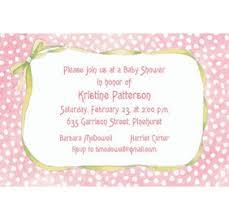 polka dots invitations custom pink polka dots bow baby shower invitations party city