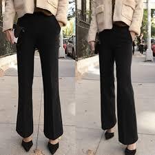 maternity work trousers 2017 new fashion maternity work women black