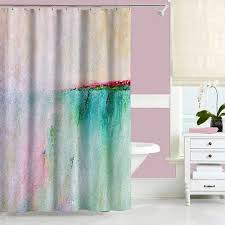 Turquoise Shower Curtain Navy Blue And Pink Shower Curtain