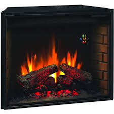 classicflame 28 inch electric fireplace insert 28ef022gra gas