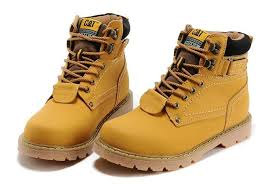 womens boots yellow autumn winter couples yellow boots genuine leather warm