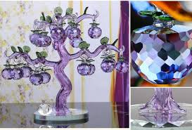 pink purple apple ornaments creative home living room tv