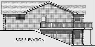Luxury House Plans With Basements by Master On Main House Plans Luxury House Plans Mother In Law