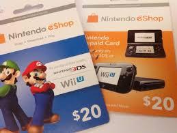 nintendo gift card free 40 nintendo e shop gift card codes prepaid