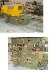 Denwood Woodworking Machinery Used by Delle Vedove Box Head Tenoner From Denwood Woodworking Machinery