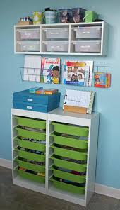 Kids Art Desk With Storage by Super Organized Arts U0026 Craft Storage U2014 Teal And Lime Art