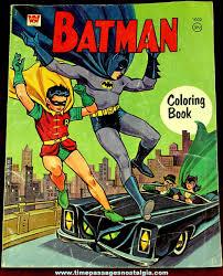 1967 batman u0026 robin whitman coloring book tpnc