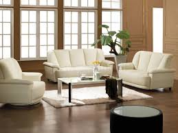 Decorate Living Room Black Leather Furniture Lovely Ideas White Leather Living Room Set Inspiring Design