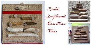 rustic driftwood christmas tree