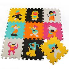 tappeti ad incastro 9 pz lotto 30 30 cm bambino schiuma ad incastro split comune