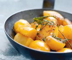 cuisiner le navet entrée légère navets jaunes glacés au miel