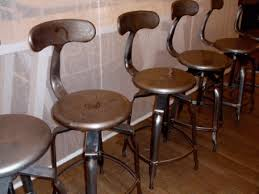 hashleich vintage bar stool industrial strength with adjustable