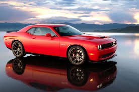 dodge challenger canada 2015 dodge challenger srt hellcat side view with reflection jpg