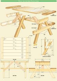 Convertible Picnic Table Bench Folding Picnic Table Plans Pdf Brokeasshome Com