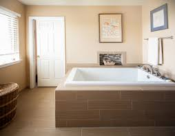 Wood Tile Bathroom by Impressive Faux Wood Tile Bathroom View Full Size 35656637 To