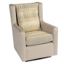 cream with black pattren little castle glider for modern furniture