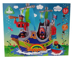early learning centre figurines happy land pirate ship amazon