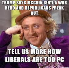 Exercising Memes - mccain actually called trump supporters crazy for exercising