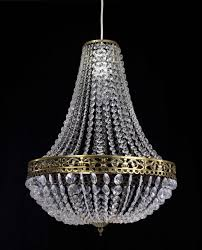 Cheap Plastic Chandelier Remodelaholic Diy Crystal Orb Chandelier Knockoff How To Make A