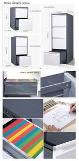 Vertical 2 Drawer File Cabinet by China High Quality Aluminium Alloy Handle 4 Drawer Vertical Office