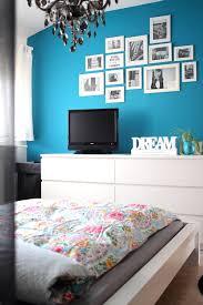 Blaues Schlafzimmer Blaue Wände Schlafzimmer Mit Deko Petrol Pip Bettwäsche Wand 2 Und