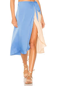 blue margarita lovers friends margarita midi skirt in ocean u0026 revolve