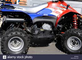 quad atv polaris scrambler 500 stock photo royalty free image
