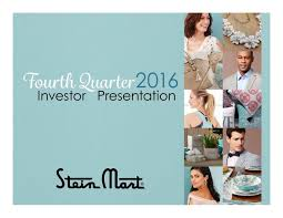 stein mart inc 2016 q4 results earnings call slides stein