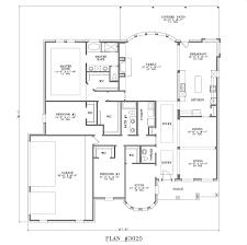 Single Story House Plans With Bonus Room 4 Bedroom House Plans One Story In Kenya Memsaheb Net