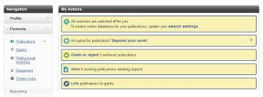how to write a research paper for publication deposit after publication imperial college london screen image showing publications link