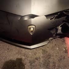 lamborghini aventador sv driver destroys his 260 0000 lamborghini aventador sv and causes