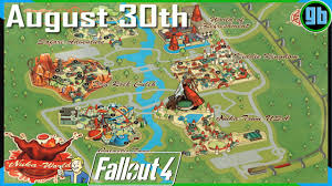 Fallout 2 World Map by Fallout 4 Nuka World Map Youtube