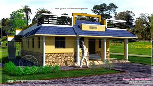 Kerala Style 3 Bedroom Single Floor House Plans Single Bedroom Indian House Plan Arts