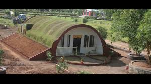 earth berm home designs invisible home design and development youtube
