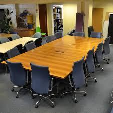 Collapsible Boardroom Table Veneer 3600x1800 Folding Boardroom Table