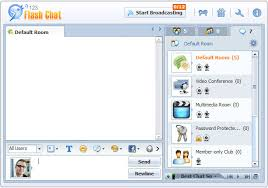 Chat Room by Custom Chat Room Logo 123 Flash Chat