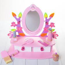 kids play vanity set personalised childrens vanity mirror set by british and bespoke
