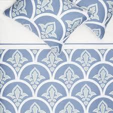 Porcelain Blue Duvet Cover Blue And Green Bedding The Clementina Blue Crane U0026 Canopy