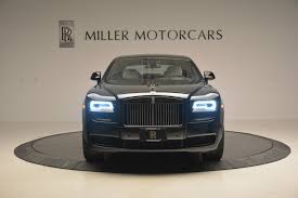 black rolls royce 2017 rolls royce ghost black badge stock ux54262 for sale near