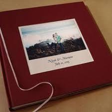 personalized scrapbook cover custom wedding photo booth guest book album marriage scrapbook